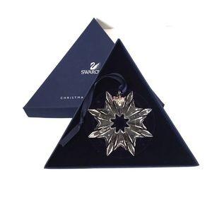 Swarovski 2003 Annual Christmas Snowflake Ornament